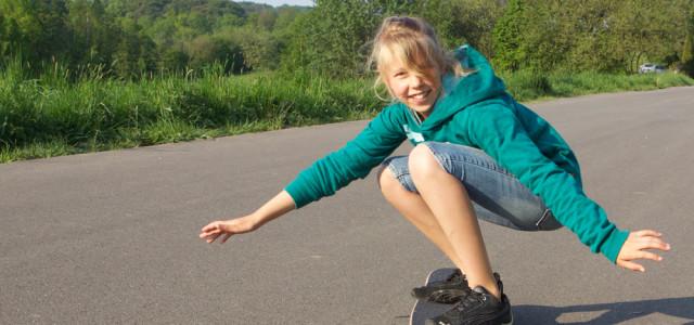 Homerider und Skatesurfer beliebt bei den Kids