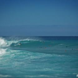 Gewaltiger Sommer Swell