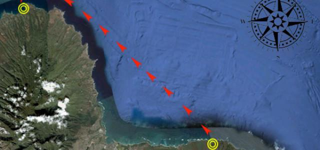 Hawaiis Paddel Elite 33km auf dem offenen Meer