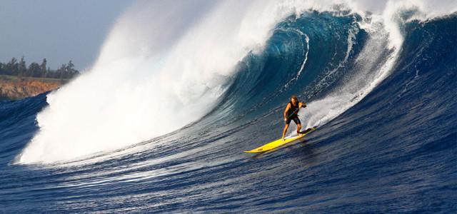 Big Wave Surfing Maui