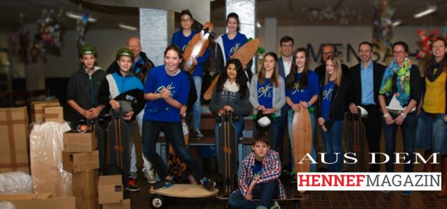 Long- und Balanceboards für Schüler des SGH