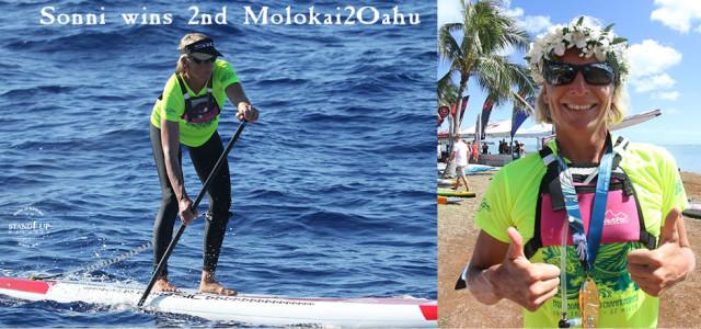 Sonni wins second Molokai2Oahu