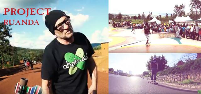 Skatepark in Ruanda mit skate-aid und JUCKER HAWAII